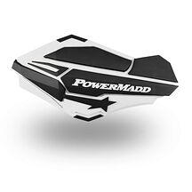 Powermadd Sentinel Handskydd Vit/Svart