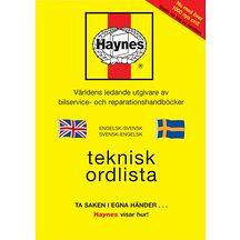 HAYNES Svensk-Engelsk ordlista