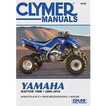 Clymer Verkstadsbok Yamaha Raptor 700