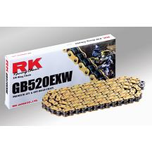 ATV/MX Kedja Guld RK GB520EXW 100 Länkar