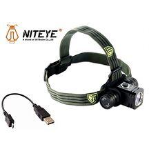 Niteye HR25 LED pannlampa inkl 2600 mAh batteri