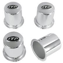 Centrumkåpor ITP Delta Stålfälg 4/110 Silver
