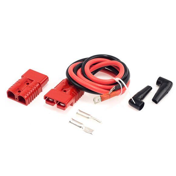 BRONCO Kabel Med Snabbkontakt APP 175 Amp För Vinsch Längd 120cm